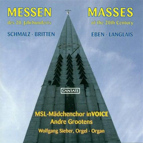Schmalz, P.: Deutsche Marienmesse / Britten, B.: Missa Brevis / Eben, P.: Missa Adventus Et Quadragesimae by Various Artists