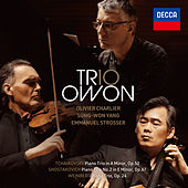 Tchaikovsky, Shostakovich and Weinberg Piano Trios by Trio Owon