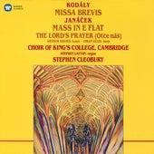 Kodály: Missa brevis - Janáček: Mass in E-Flat & The Lord's Prayer von Choir of King's College, Cambridge