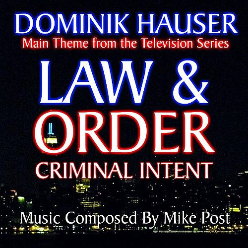 Theme from 'Law And Order: Criminal Intent' By Mike Post by Dominik Hauser