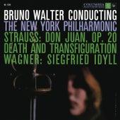 Strauss: Tod und Verklärung, Op. 24 & Don Juan, Op. 20 - Wagner: Siegfried Idyll, WWV 103 by Bruno Walter