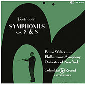 Beethoven: Symphonies 7 & 8 (Remastered) von Bruno Walter