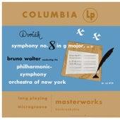 Dvorák: Symphony No. 8, Op. 88 & Slavonic Dance, Op. 46, No. 1 - Barber: Symphony No. 1, Op. 9 (Remastered) de Bruno Walter