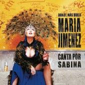 Donde Más Duele (Canta Por Sabina) de María Jiménez