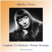 Complainte Du Téléphone / Musique Mécanique (Remastered 2019) de Juliette Greco