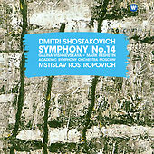 Shostakovich: Symphony No. 14, Op. 135 de Mstislav Rostropovich