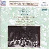 Massenet : Manon by Various Artists
