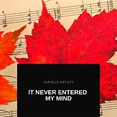 It Never Entered My Mind by Sarah Vaughan