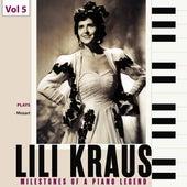 Milestones of a Piano Legend: Lili Kraus, Vol. 5 de Szymon Goldberg
