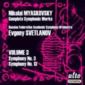 Myaskovsky: Complete Symphonies, Volume 3 – Symphonies Nos. 3 and 13 – Svetlanov de Evgeny Svetlanov