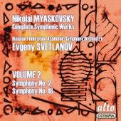 Myaskovsky: Complete Symphonies, Volume 2 – Symphonies Nos. 2 and 18 - Svetlanov de Evgeny Svetlanov