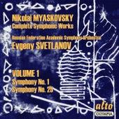 Myaskovsky: Complete Symphonies, Volume 1 – Symphonies Nos. 1 and 25 - Svetlanov de Evgeny Svetlanov