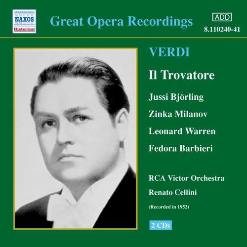 Verdi: Trovatore (Il) (Bjorling, Milanov, Cellini) (1952) by Various Artists