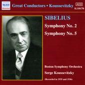 Sibelius: Symphonies Nos. 2 and 5 (Koussevitzky) (1935-1936) von Sergey Koussevitzky
