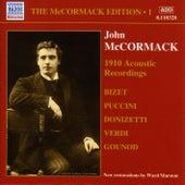 Mccormack, John: Mccormack Edition, Vol. 1: The Acoustic Recordings (1910) by John McCormack