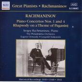 Rachmaninov: Piano Concertos Nos. 1 and 4 (Rachmaninov) (1939-1941) de Various Artists