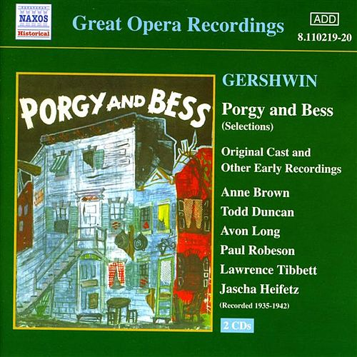 Gershwin: Porgy and Bess (Original Cast Recordings) (1935-1942) by Various Artists