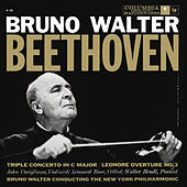 Beethoven: Triple Concerto & Leonore and Egmont Overtures de Bruno Walter