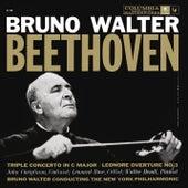 Beethoven: Triple Concerto & Leonore and Egmont Overtures von Bruno Walter