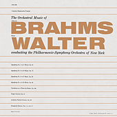 Brahms: Orchestral Music (Remastered) de Bruno Walter