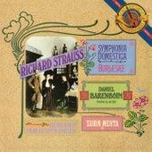 Strauss: Symphonia Domestica & Burleske de Zubin Mehta