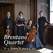 Mozart: String Quartets Nos. 19 & 16, K. 465 & 428 by Brentano String Quartet