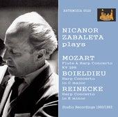 Mozart, Boieldieu & Reinecke: Works for Harp & Orchestra by Nicanor Zabaleta