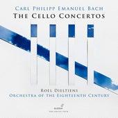 C.P.E. Bach: Cello Concertos von Roel Dieltiens