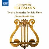 Telemann: 12 Fantasias for Flute, TWV 40:2-13 by Giovanni Roselli