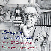Homage to Nadia Boulanger de Rose Wollman