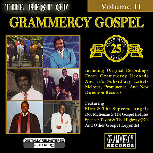 The Best Of Grammercy Gospel Volume 2 by Various Artists