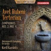 Terterian: Symphony Nos. 3 & 4 by Tigran Aleksanyan