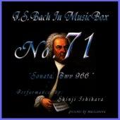 Bach In Musical Box 71 /sonata Bwv 966 by Shinji Ishihara