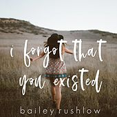 I Forgot That You Existed (Acoustic) de Bailey Rushlow