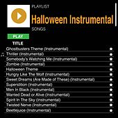 Halloween Instrumentals Songs by Various Artists