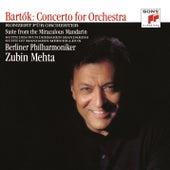 Bartók: Concerto for Orchestra & The Miraculous Mandarin di Zubin Mehta