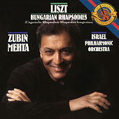 Liszt: 6 Hungarian Rhapsodies, S. 359 di Zubin Mehta