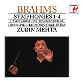 Brahms: Symphonies Nos. 1-4 & Tragic Overture di Zubin Mehta