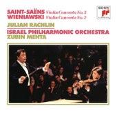 Saint-Saëns: Violin Concerto No. 3 - Wieniawski: Violin Concerto No. 2 di Zubin Mehta
