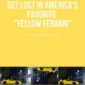 Yellow Ferrari by Haydie