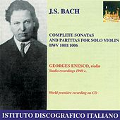 Bach: Violin Sonatas and Partitas Nos. 1-3 (Enesco) (1940) de George Enescu