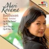 Beethoven: Piano Sonatas Opp. 78, 79, 14, 49 de Mari Kodama