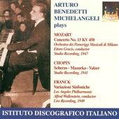 Mozart, W.A.: Piano Concerto No. 15 / Chopin, F.: Scherzo No. 2 / Mazurka No. 47 / Waltz No. 9 / Franck, C.: Symphonic Variations de Various Artists