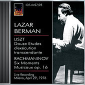 Berman, Lazar: Lazar Berman Plays Liszt and Rachmaninov (29 April 1976) von Lazar Berman