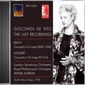 Violin Concert: Vito, Gioconda De - Bach, J.S. / Mozart, W.A. (Gioconda De Vito Edition, Vol. 6) (1959) de Various Artists