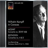 Kempff, Wilhelm: Kempff in Caracas (9 and 11 March 1955) by Various Artists