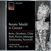 Opera Arias (Soprano): Tebaldi, Renata - Boito, A. / Giordano, U. / Cilea, F. / Verdi, G. / Puccini, G. / Mascagni, P. / Verdi, G.  (1950-1956) de Various Artists