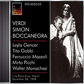 Verdi, G.: Simon Boccanegra [Opera] (1958) de Various Artists