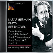 Beethoven, L. Van: Piano Sonatas Nos. 8, 19, 23 and 31 (Berman) (1972-1984) von Lazar Berman