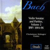 Bach, J.S.: Sonatas and Partitas for Solo Violin, Vol. 2 by Christiane Edinger